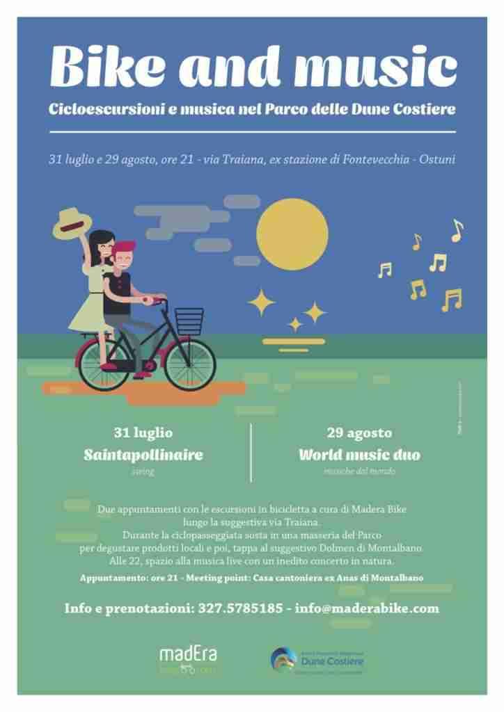 locandina bike and music