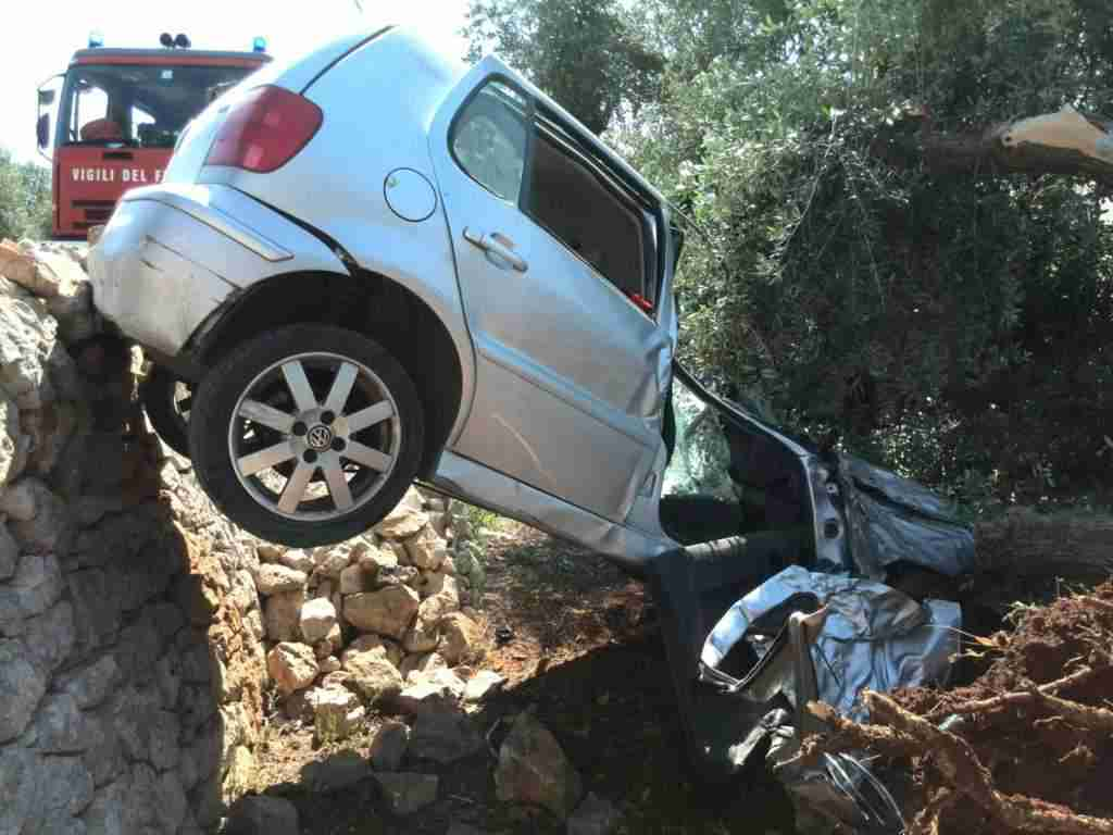 Incidente Stradale via Martina