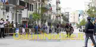 Caduta Gara Ciclistica1