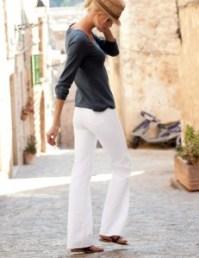 Zomerklassieker: de witte broek