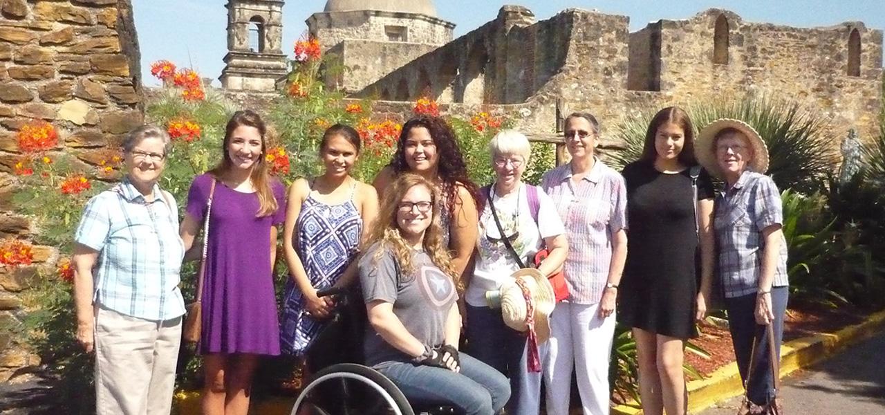 Service trip, San Antonio, 2017, Mission San Jose