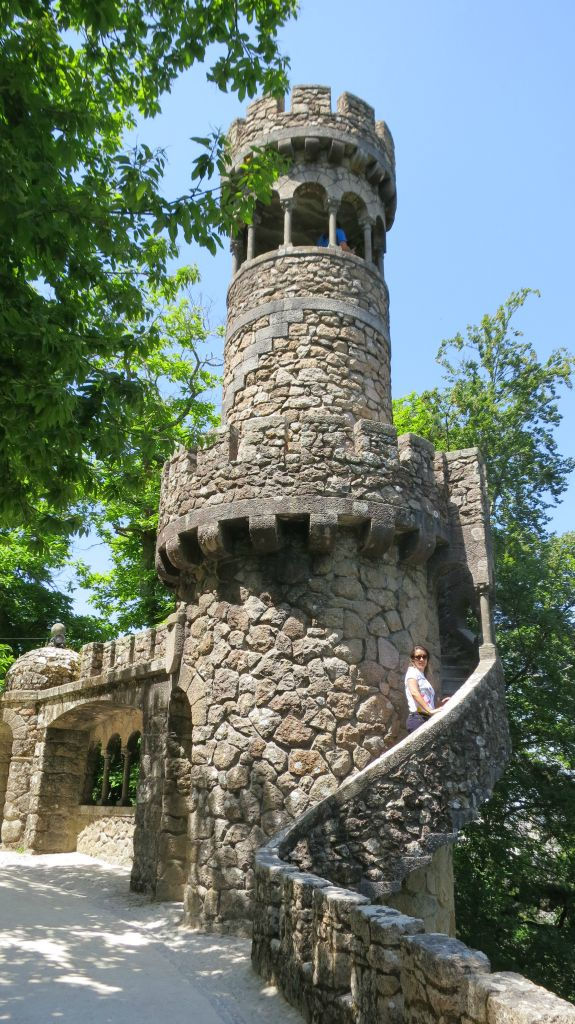 Visiting the Quinta da Regaleira Sintra Portugal