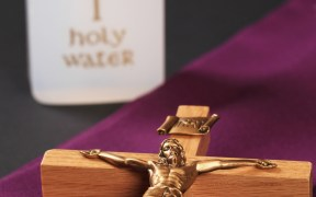 HOLY WATER, CRUCIFIX, PURPLE STOLE AMONG ITEMS USED IN EXORCISM RITE