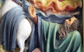 St. Paul's conversion began when, with a flash of light, he fell from his horse.