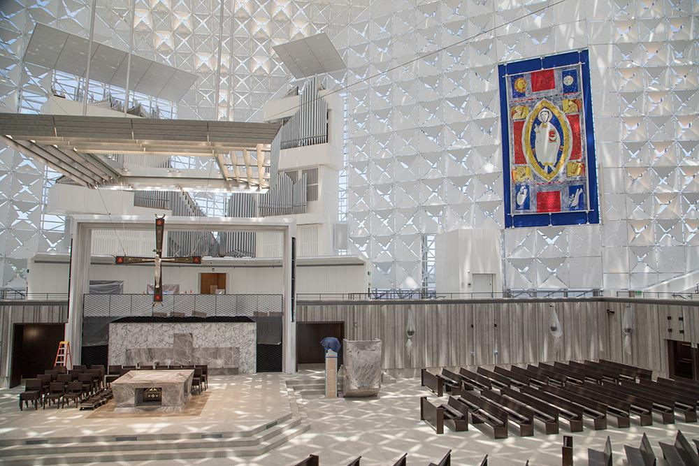 renovated crystal cathedral to