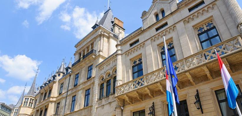 Grand Ducal Palace, Luxembourg.