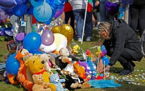 GREAT BRITAIN ALFIE EVANS REACT