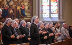 LITTLE SISTERS MASS NOTRE DAME
