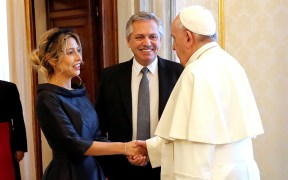 POPE FRANCIS ARGENTINE PRESIDENT