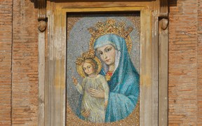 Mary as Mother of the Church mosaic