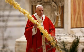 POPE PALM SUNDAY VATICAN
