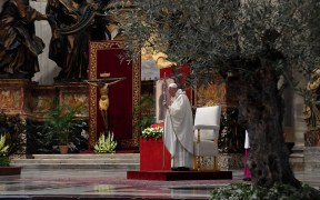 POPE EASTER SUNDAY VATICAN