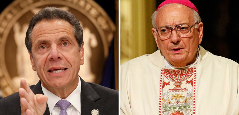 GOV. ANDREW CUOMO AND BISHOP NICHOLAS DIMARZIO