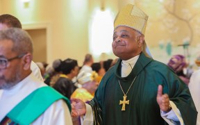 FILE ARCHBISHOP GREGORY WASHINGTON