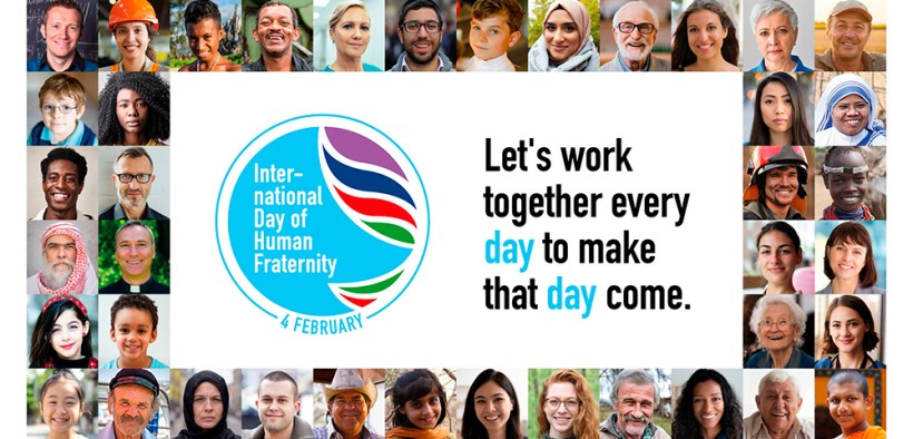 LOGO INTERNATIONAL DAY HUMAN FRATERNITY