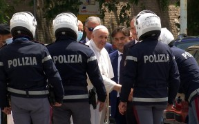 POPE RELEASE HOSPITAL