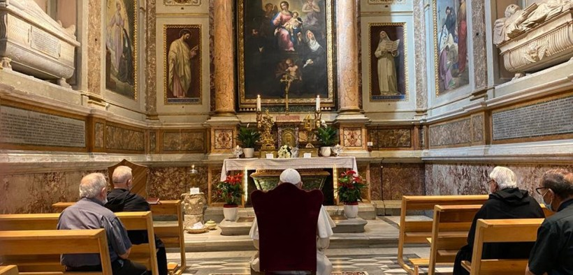 POPE FRANCIS ST. MONICA