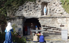 The National Shrine of Our Lady of Lourdes at Mount St. Mary's University