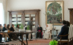POPE VATICAN ECOLOGY FRANCE