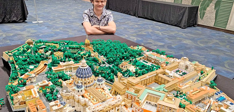 VATICAN CITY STATE LEGO