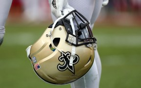 NEW ORLEANS FOOTBALL HELMET