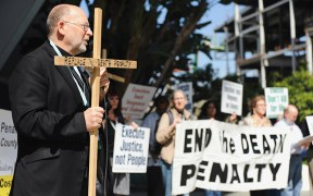 DEATH PENALTY PROTEST CALIFORNIA