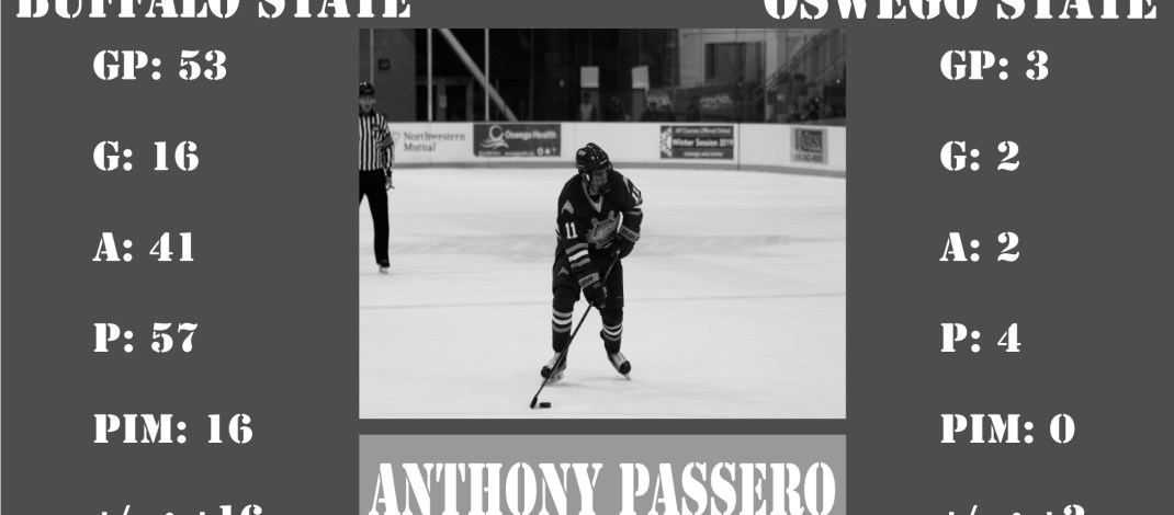 Anthony Passero prepares for first game against former team