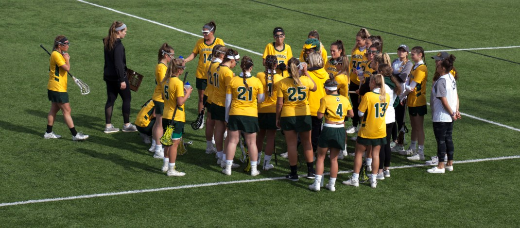 Streaking women's lacrosse team win SUNYAC playoff first round