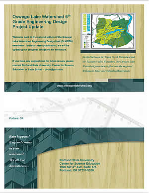 CLICK on the links to the left to open Lecia Schall's project reports