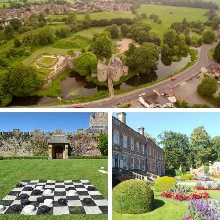 Visit castles in Oswestry