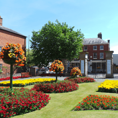 Enjoy Oswestry parks, gardens and nature