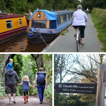 Walking and activities near Oswestry