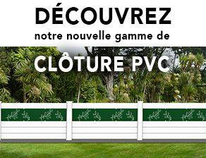 Cloture PVC