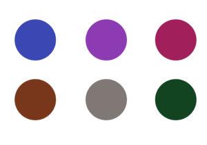 自分に似合う色選び訓練3段階