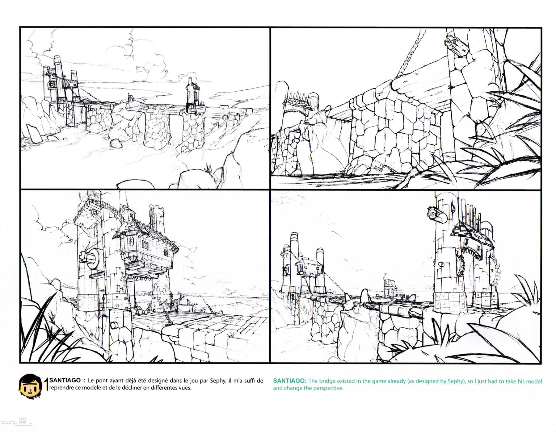 Art Book Wakfu Tome 1 Recherche Decor Page 32 Du Tome 1
