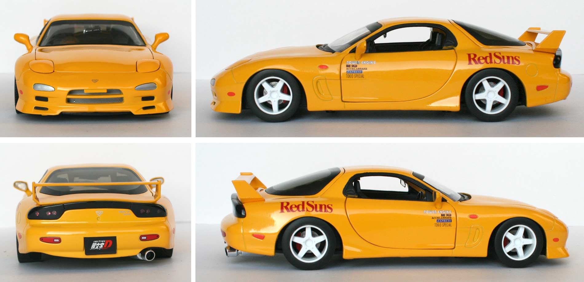 Initial D : Mazda RX 7 FD3S – ech 1/18 (Jada Toys) Initial D : Mazda RX 7 FD3S - ech 1/18 (Jada Toys) - Turn over – Otakia » Tests et ...