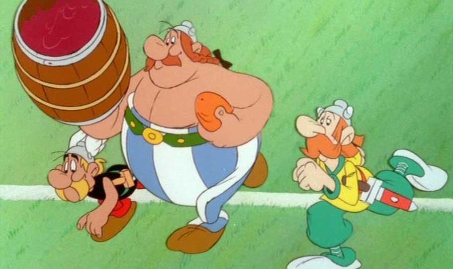 Asterix chez le Britons