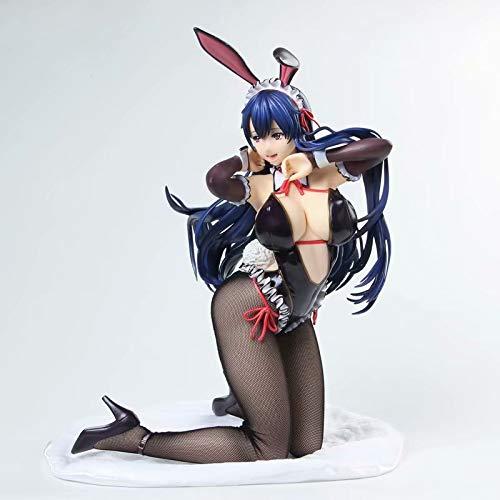 Yvonnezhang Native Binding Bunny Mädchen Figuren Spielzeug Mädchen Anime PVC Action-Figuren Spielz