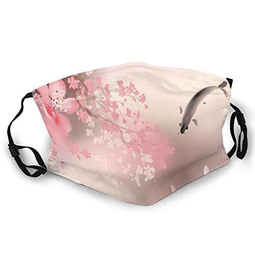 Waschbare Sakura-Blüte In Japan Mundschutzmaske Anime Mundschutz Maske