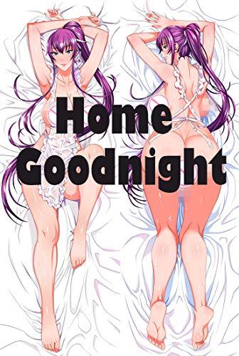 Home Goodnight Highschool of The Dead Saeko Busujima 160 x 50cm(62.9in x 19.6in) Peach Skin Kissenbe