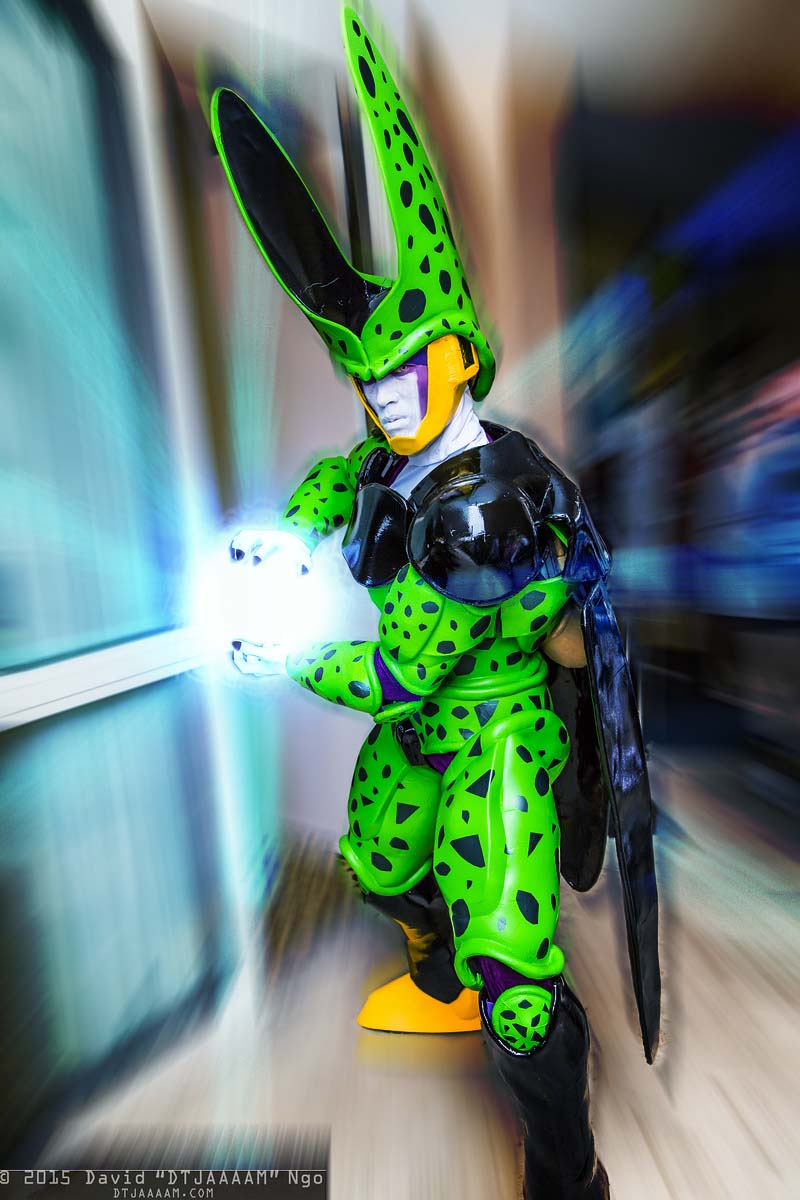 Perfect Cell Cosplay at Anime LA 2015  Andrew Makes Things