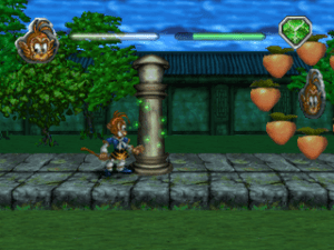 391742 monkey magic playstation screenshot shrinking down a column 300x225