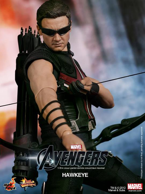 Preview | Hot Toys: Avengers Hawkeye (12)