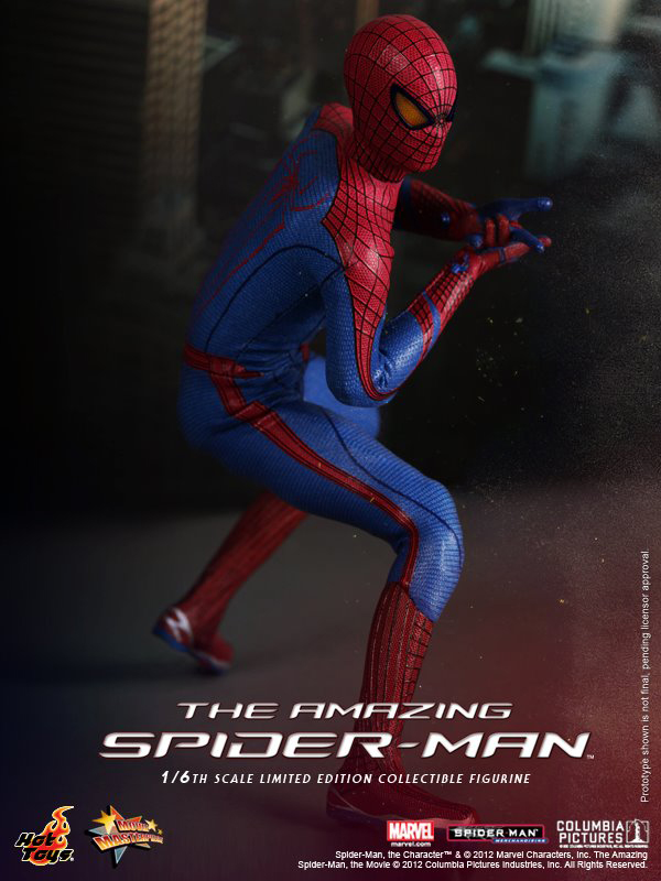 Preview   Hot Toys: Amazing Spiderman (2)