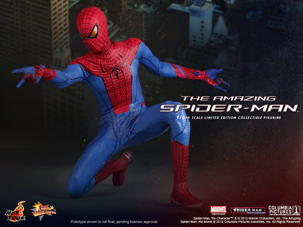 Preview   Hot Toys: Amazing Spiderman (5)