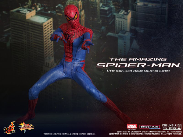 Preview   Hot Toys: Amazing Spiderman (15)