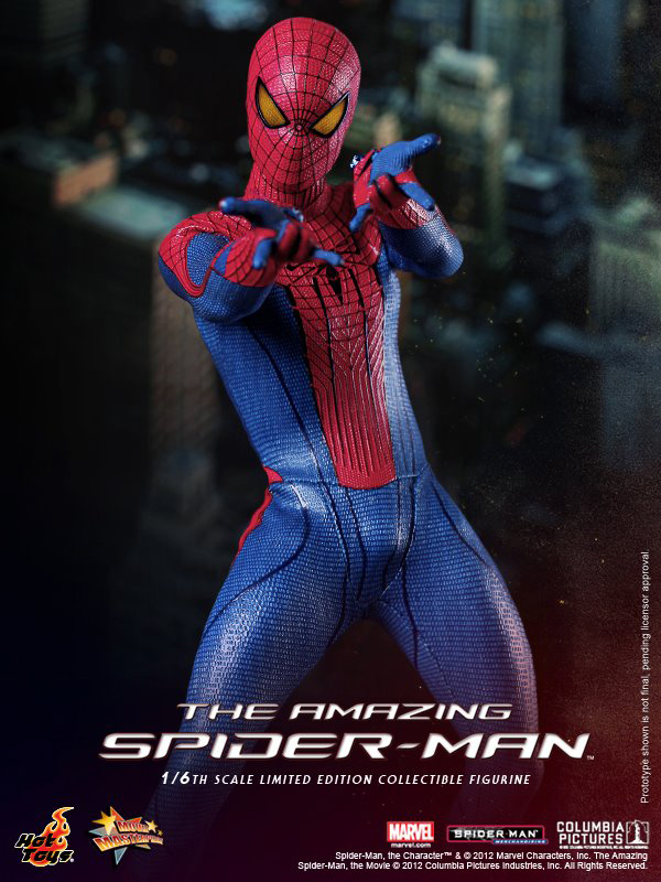 Preview   Hot Toys: Amazing Spiderman (14)
