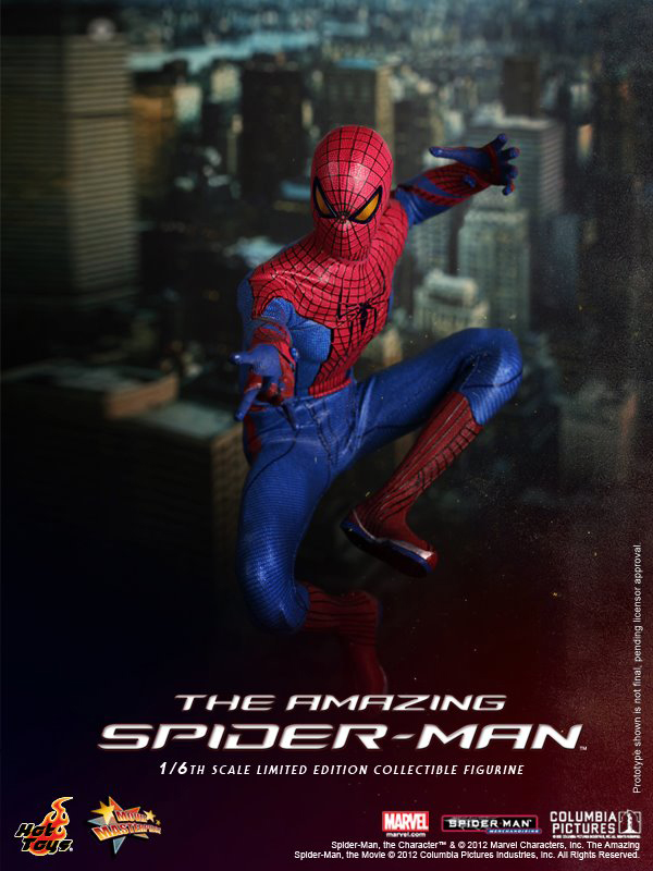 Preview   Hot Toys: Amazing Spiderman (13)