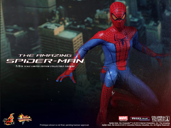 Preview   Hot Toys: Amazing Spiderman (16)