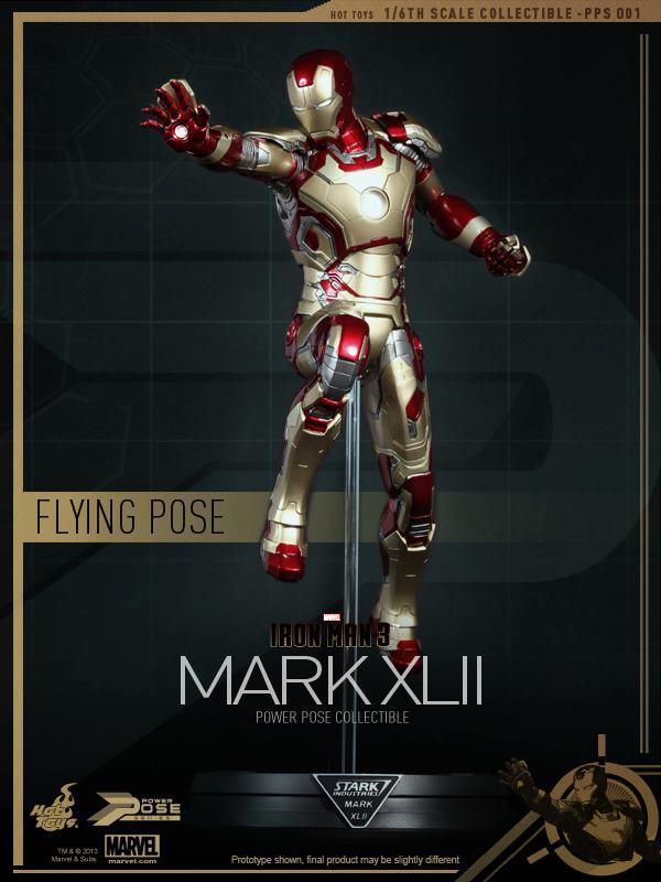 Preview | Hot Toys: Iron Man Mk XLII (Power Pose Series) (5)